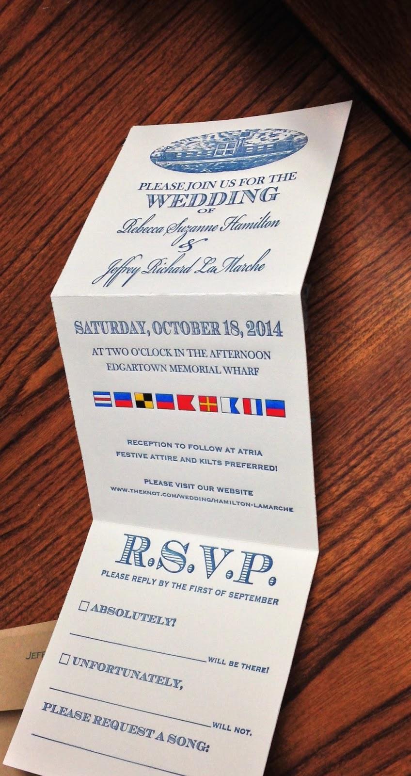 Final Folded Invitations