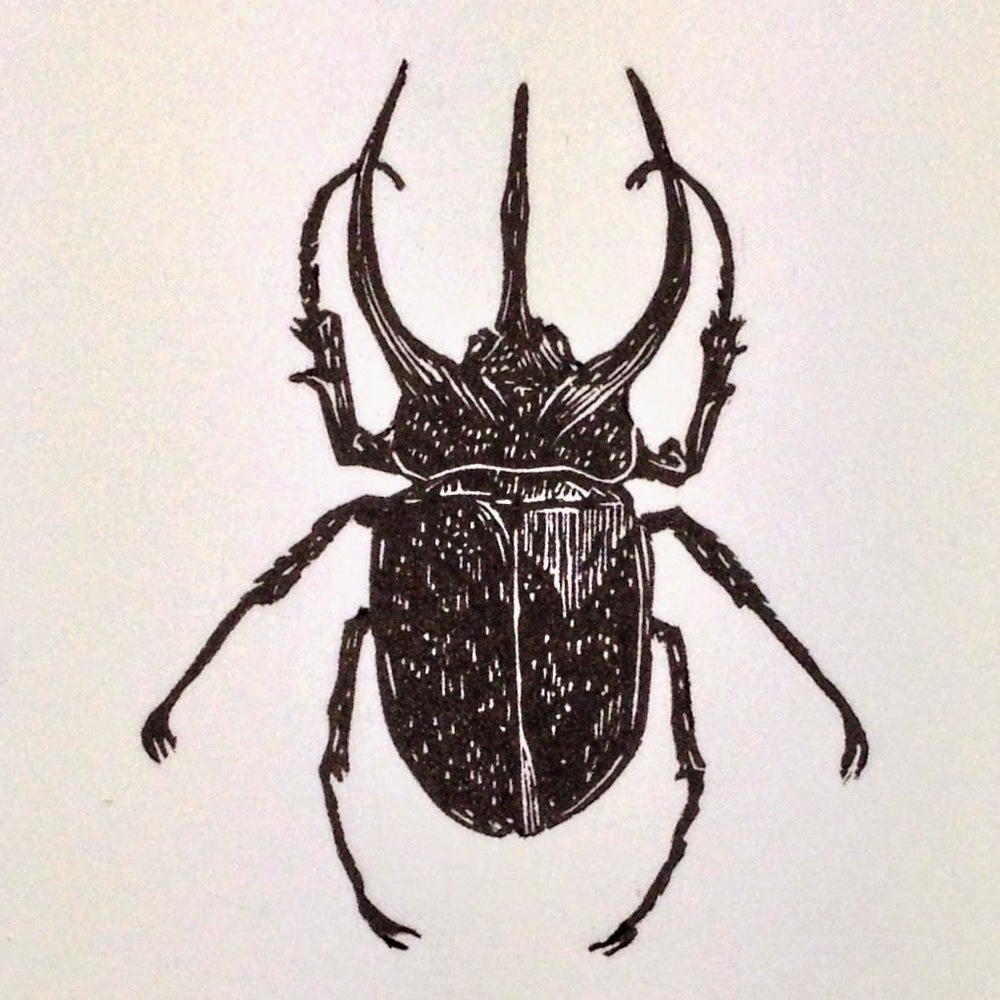 Final print of the Atlas Beetle.