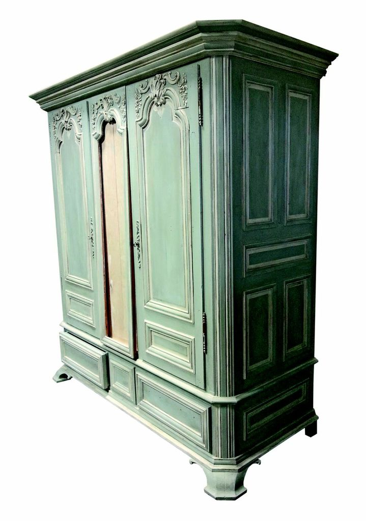 French Antique Inspired Wardrobe