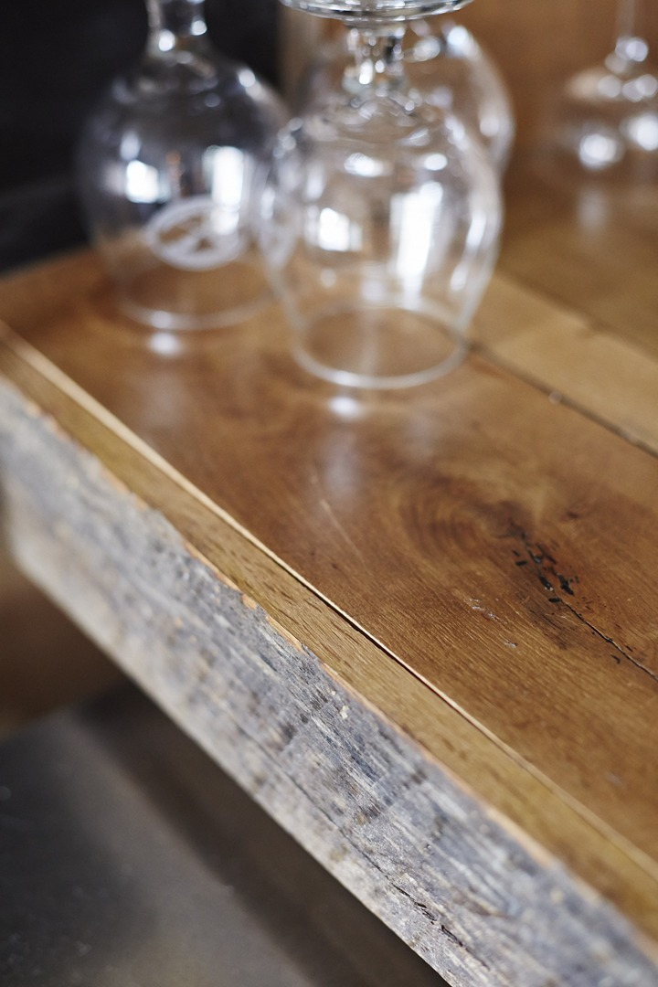 Table, Donkey and Stick Back Bar Top