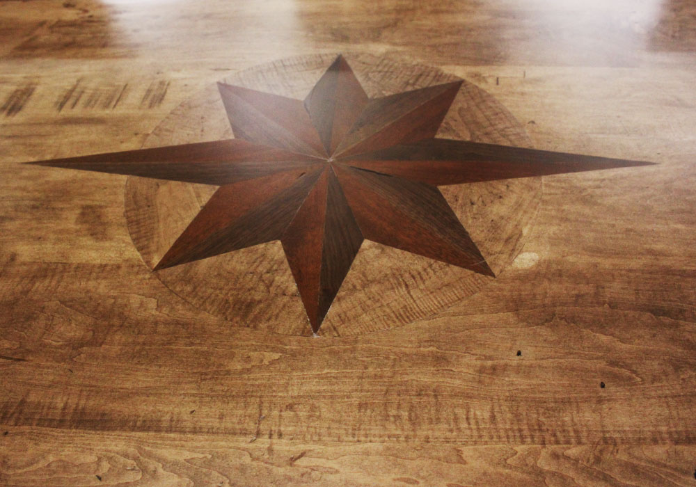 Starburst Inlay