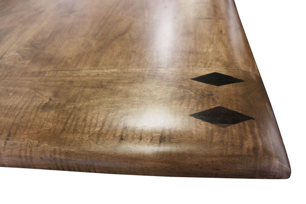 Detail on Starburst Conference Room Table