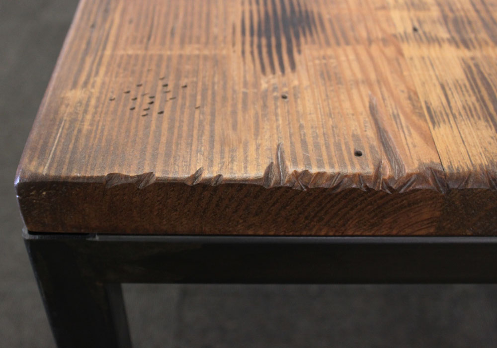 Parsons Desk Top and Welded Metal Base