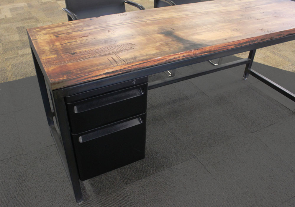 Parsons Desk with additional drawer space