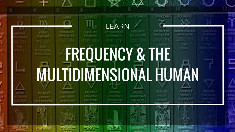 - Learn about Frequency in a new and Multidimensional way. Begin to see frequency and timelines as a physical part of your experience and engage the universe as it begins to work with you.