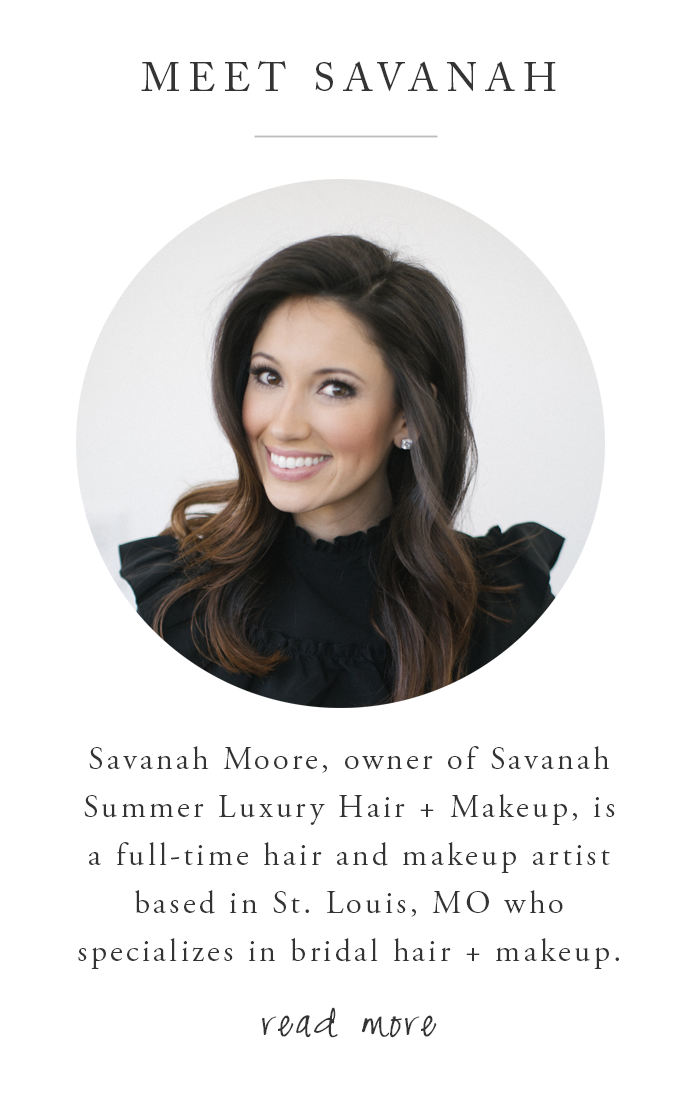 Makeup Artist St Louis Savanah Summer Luxury Hair Makeup
