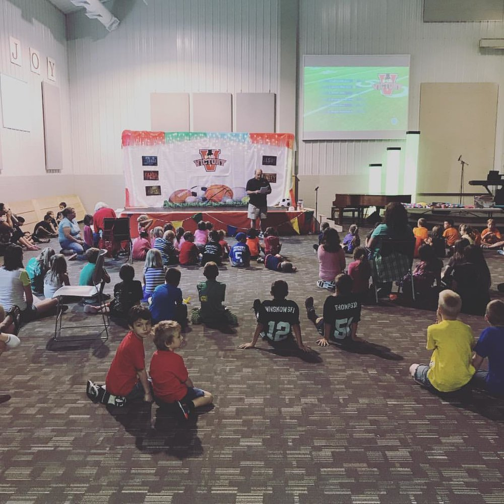 Equipping Kids for Christ -