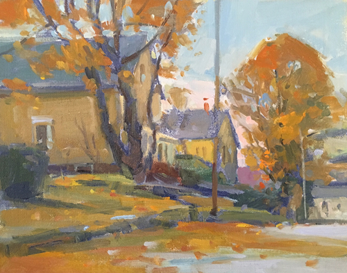'Late Fall' 8x10 Oil