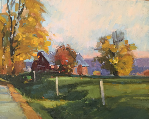 'Autumn Glory' 8x10 Oil $950