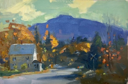 'White Mountains' 6x9 Oil SOLD