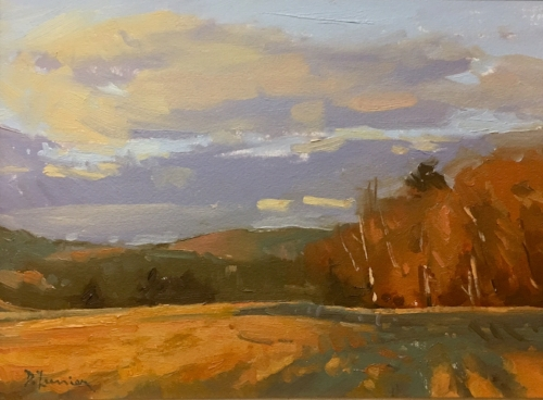 'Last Light' 9x12 Oil