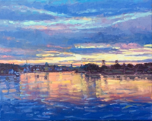 'Afterglow' 16x20 Oil $1800