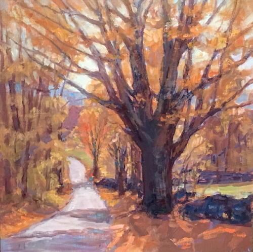 'Autumn' 10x10 Oil