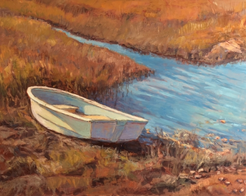 'Marsh Tide' 16x20 Oil $1800