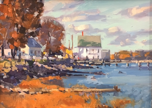 'By The Seashore' 9x12 $1100