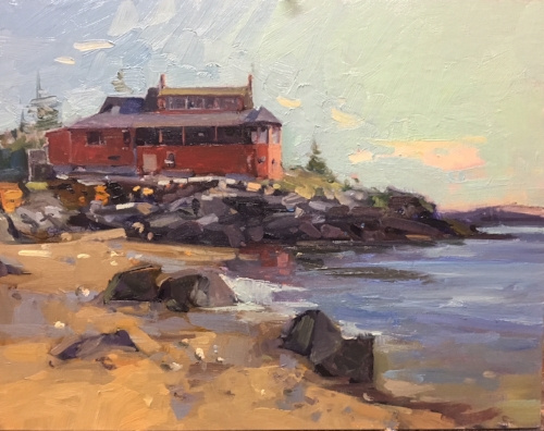 'Beach View' 11x14 Oil $1600