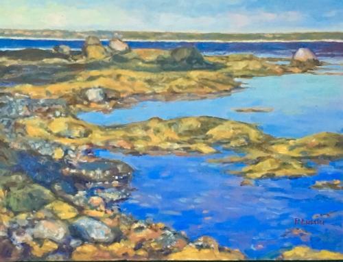 'Beachcombing Study' 9x12 Oil $750