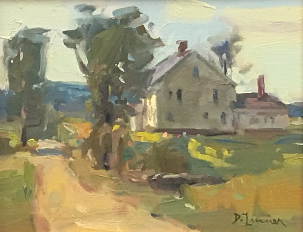 'The Homestead' 8x10 Oil $850