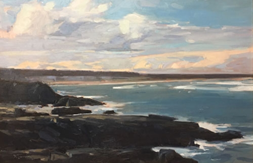 'Sky Over Ogunquit' 24x36 Oil $5700