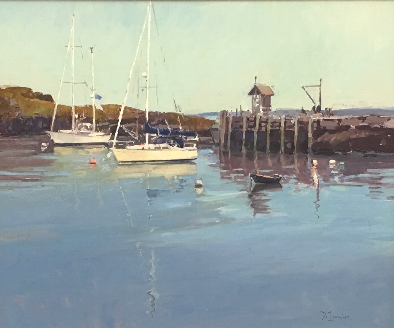 'Quiet Harbor' 20x24 Oil $3700