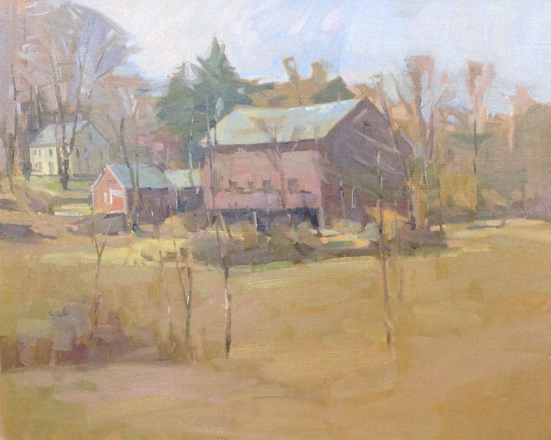 'New England Classic' 24x30 Oil $5200