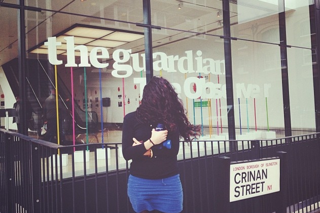 The Guardian. Community Coordinator, News desk (2010-2013)