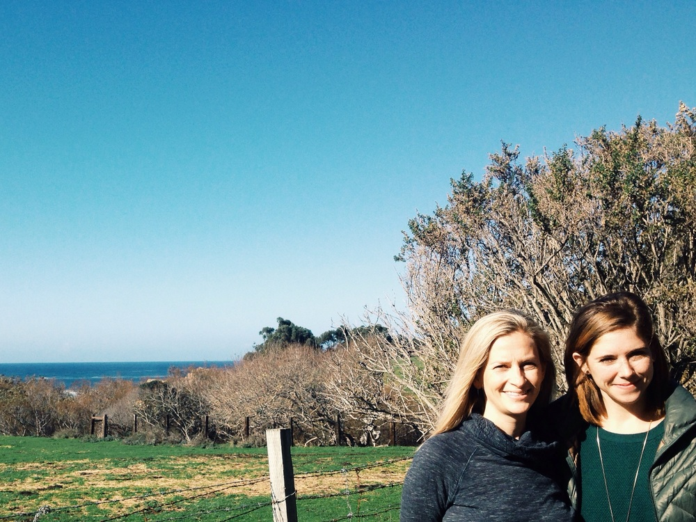 Kelly Sonnack and I at the  Andrea Brown Literary  Agency Big Sur Retreat!