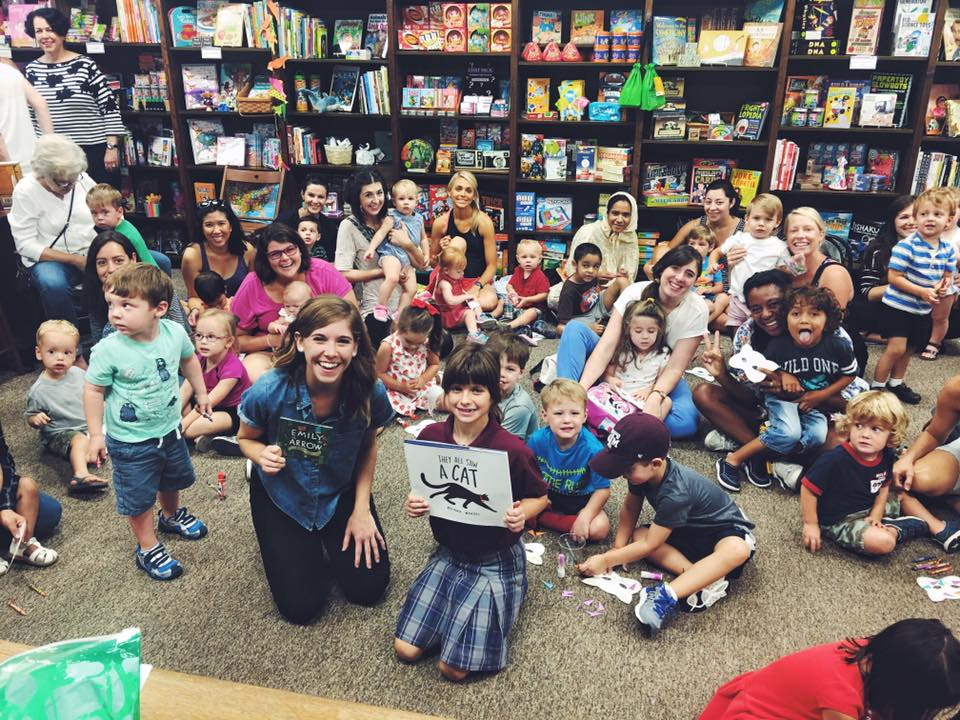 at Blue Willow Bookshop, Houston, TX