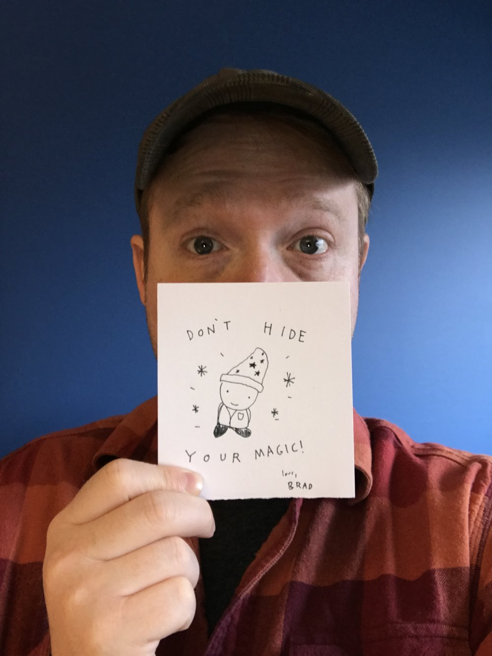 A collaboration with creator of Kid president,  Brad Montague