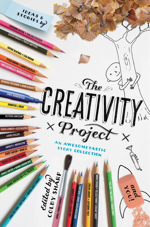 CREATIVITY PROJECT Song - song by Emily Arrowabout the book by Colby Sharp (and a gazillion awesome authors/illustrators)