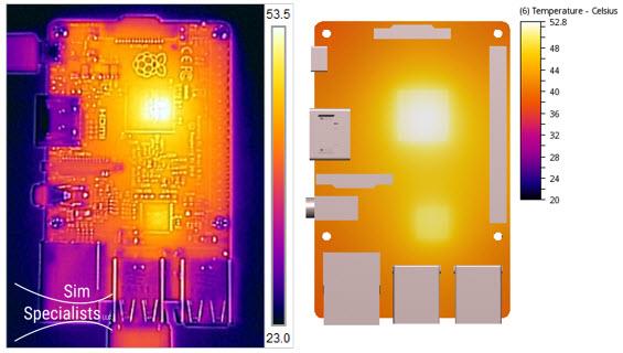 Raspberry Pi CFD IR Comparison