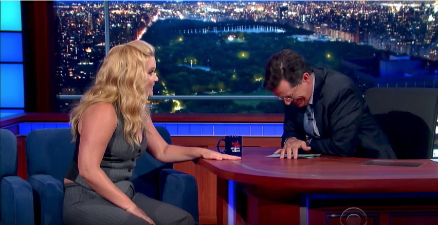 Watch Stephen's Interview With Superstar Amy Schumer -