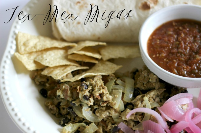 Simple Tex Mex Migas