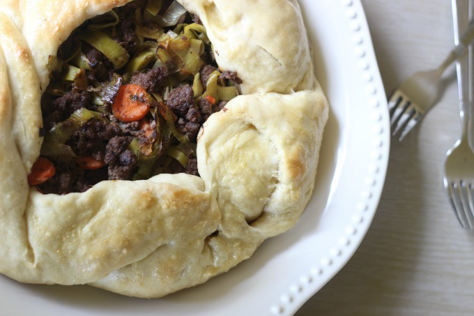 Beef, Leek and Carrot Galette | NR Blog