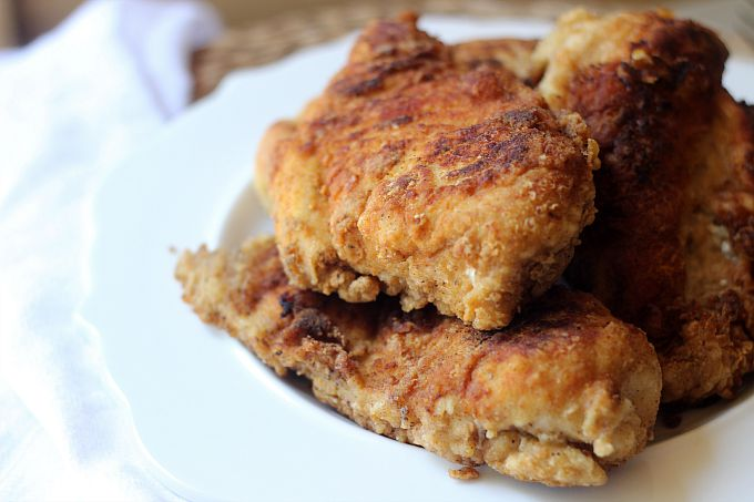 Old Bay Fried Chicken...the perfect comfort food this fall