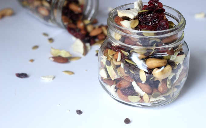 Easy fall trail mix...perfect for holiday or anytime travel