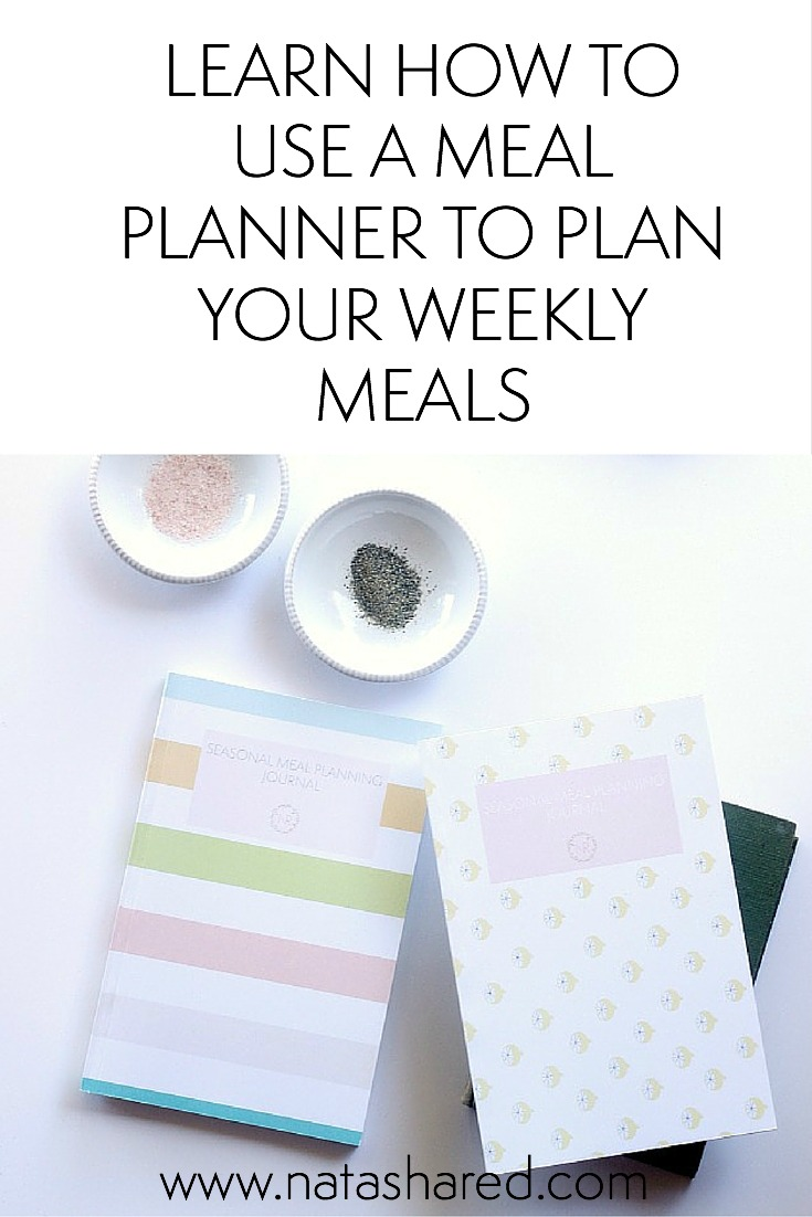 Learn how to use a meal planner to plan your weekly meals // NR Blog