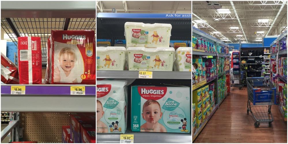 Huggies at Walmart