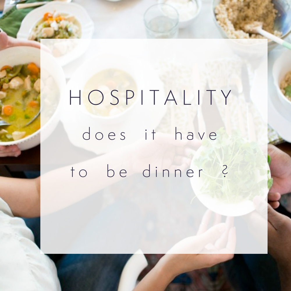 How to get practical about hospitality....my favorite resources for the heart and the practical // Natasha Red