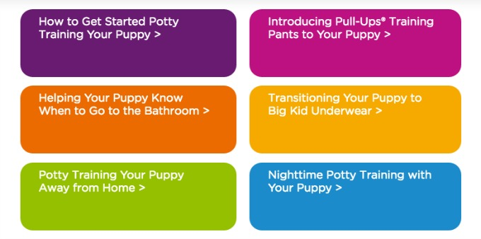 Find out your child's potty training personality with the Pull-Ups® Quiz