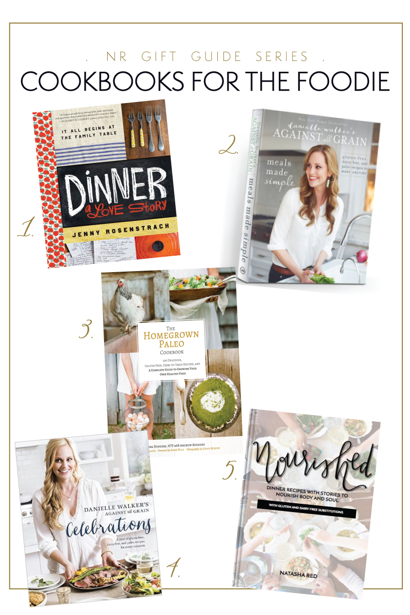 NR Holiday Gift Guide: Cookbooks for the Foodie