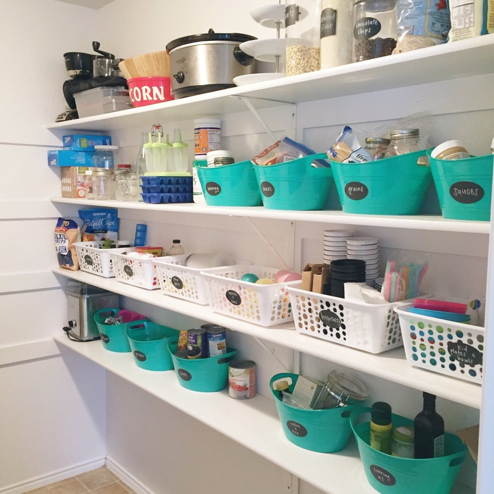 Organize your Pantry on a Budget — Natasha Red