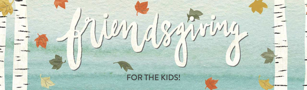 Kid's Friendsgiving Playdate // Natasha Red