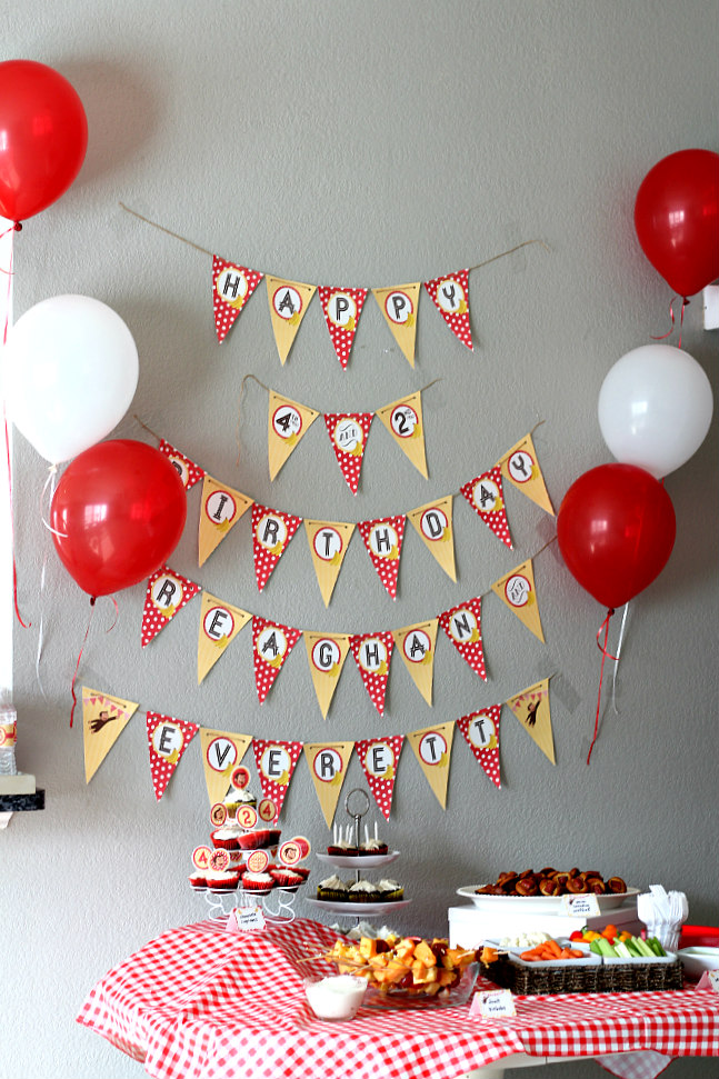 Our Shared Curious George Birthday Party! // Natasha Red