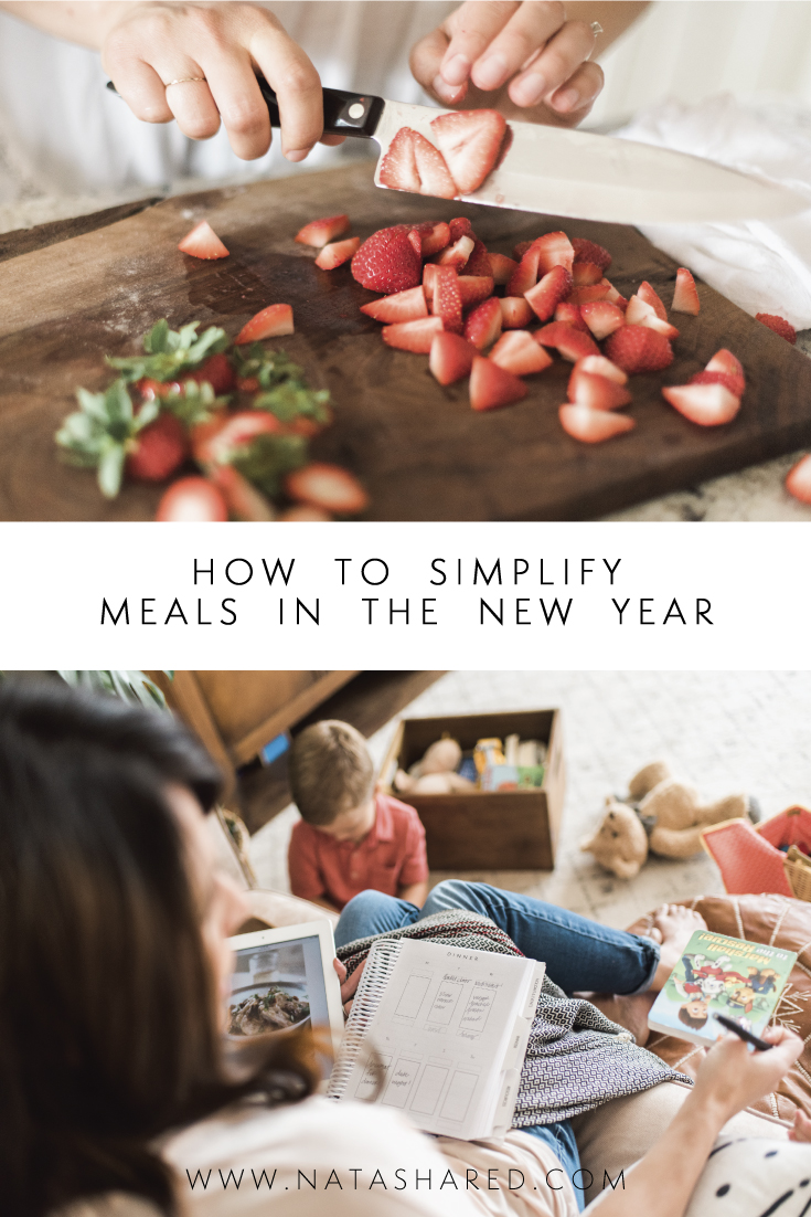 How to Simplify Meals in the New Year