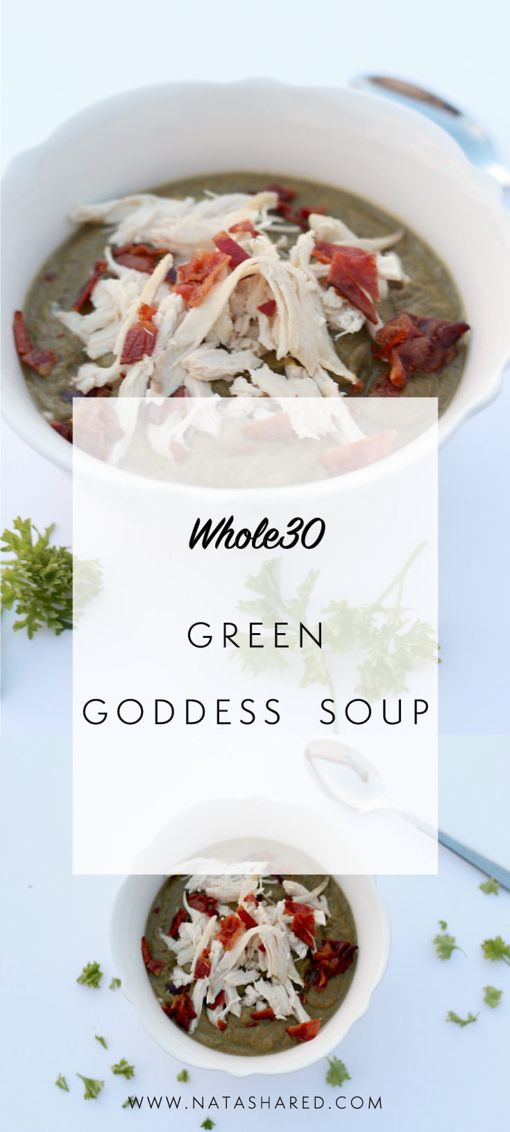 Whole30 Green Goddess Soup | Soup for Breakfast | Whole30 Simple Dinners