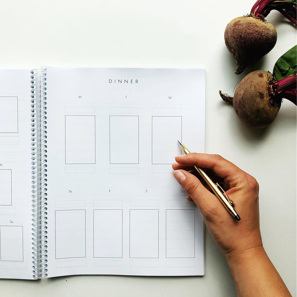 Seasonal Meal Planner // Natasha Red