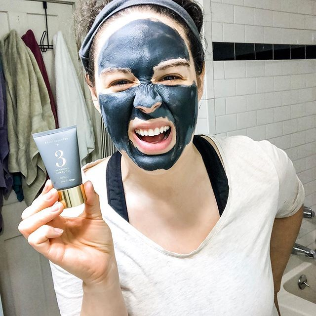 Yesterday I showed you how I apply my favorite safer face mask when I'm down to the last bits in the tube! It should be up in my stories for a few more hours, but if you missed it, you can watch on my IG TV. I love this mask because it's super power is getting all the impurities out without over drying my skin, and for that I'm grateful. .  One tip is to make sure to gently exfoliate after and to moisturize well! I've used this mask 2-3 times a week most of this year and it has lasted me a full year. And right now it's 15% off! 🎉 .  Today (Monday) is the last day of the beautycounter friends & family sale, so if you've been toying with the idea of swapping your conventional products for safer options, or if you've been waiting to place an order and need to stock up, now is the best time. We rarely see sales happen, especially site wide, so this feels really fun! ✨ .  Do you like a good face mask before bed sometimes? 🖤