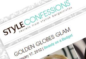 Style Confessions.   Click here to visit.