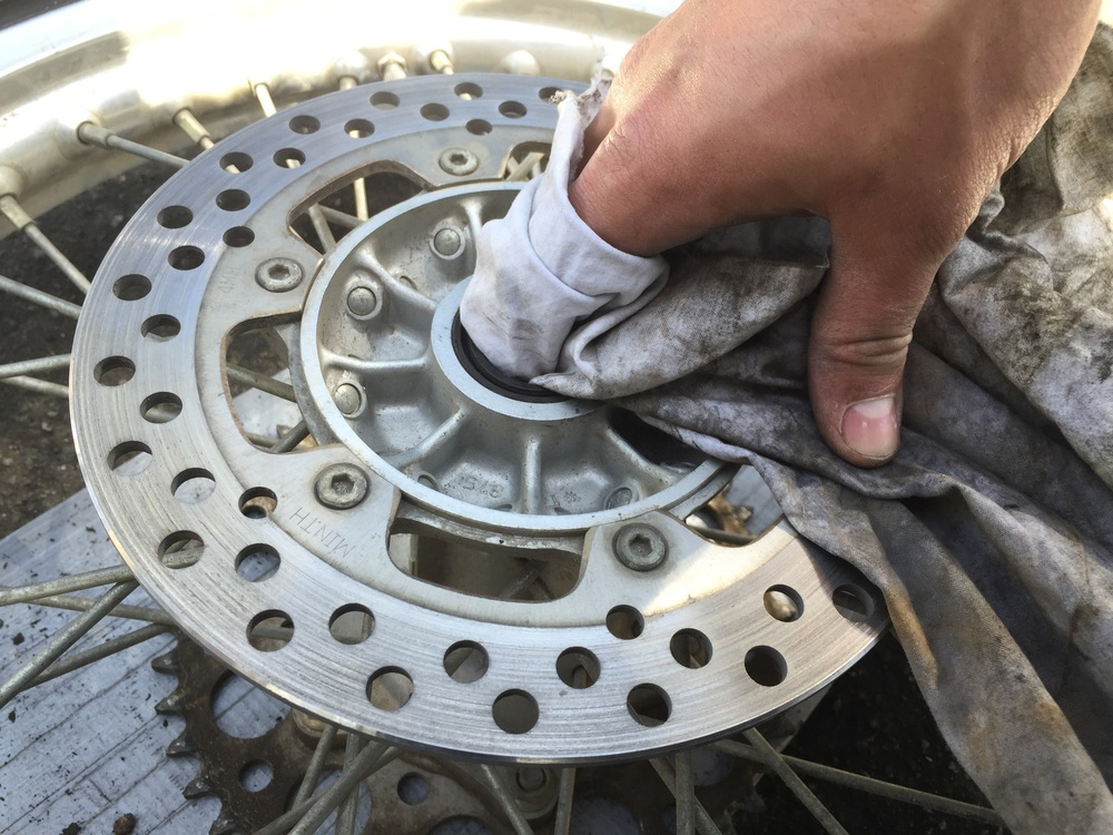 Clean and inspect bearings